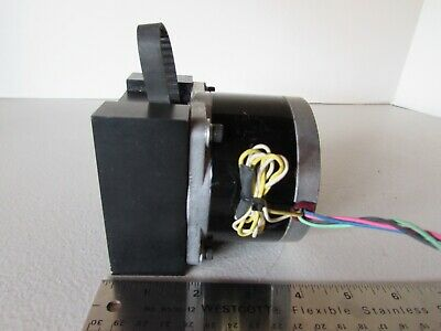 Vexta Stepping Stepper Motor PH296-01 2-Phase w/ Pulley Belt & Bracket Japan