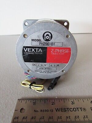 Oriental Motor Vexta Stepping Stepper Motor PH296-01 2-Phase Japan
