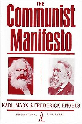 The Communist Manifesto by Karl Marx Paperback classics Political Philosophy NEW