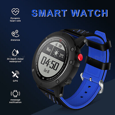 GPS Smart Watch Fitness Tracker Compass Outdoor Running Watch For iOS Android UK