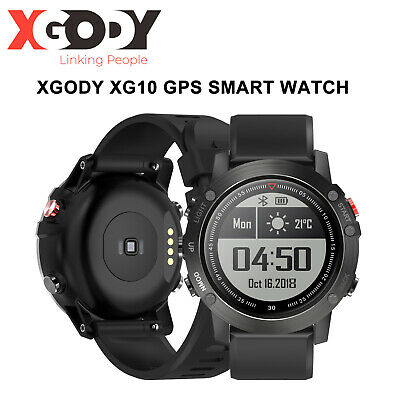 Smart Watch Waterproof Outdoor Bluetooth Fitness Tracker GPS Heart Rate Compass
