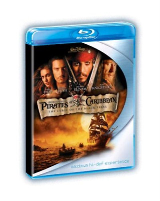 Johnny Depp, Geoffrey Rush-Pirates of the Caribbean: The Curse of t Blu-ray NEUF