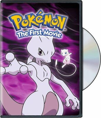 Pokemon the First Movie Mewtwo Strikes Back Veronica Taylor Anime Family DVD NEW