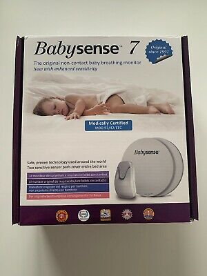 BNIB Babysense 7 Under Mattress Baby Breathing Monitor For Newborns Unopened