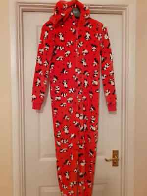 Marks & Spencer Luxury Fleece Panda Sleepsuit Pyjamas Age 11-12