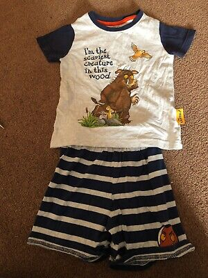 Marks and Spencer M&S Gruffalo Pyjamas Shorts 18-24 Months