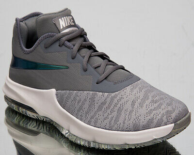 NIKE AIR MAX Infuriate III Bas Homme Gris Cool Basketball