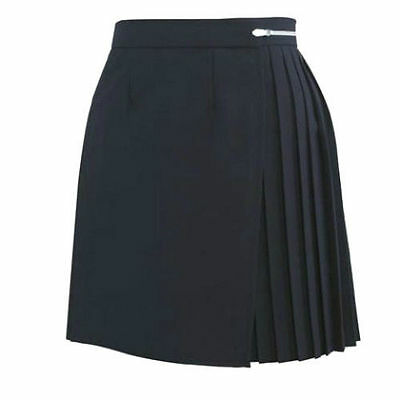 "Girls/Ladies NAVY BLUE Polyester School Gym Kilt/Skirt W27-30"" 13-18 yrs- NEW!"