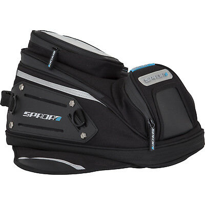 Spada Expandable Magnetic 10 Litre to 14 Litre Motorcycle Tank Bag