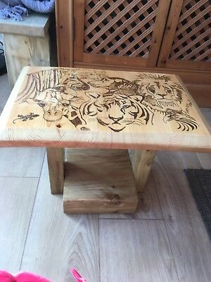 Childs Hand Crafted Small Table New
