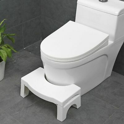 Multi-Function Folding Toilet Stool Bathroom Potty Training Proper Posture