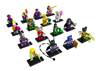 Lego DC Comics Super Heroes Série 71026 Complète Lot 16 Minifigures Figurines
