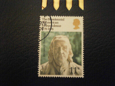 Gb Stamps 1976 - Bicentenary Of American Revolution- Fine Used