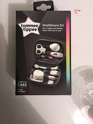 Tommee Tippee Closer to Nature Healthcare Kit 9 Items Brand New On Box