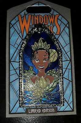 2019 Disney Parks Windows of Magic Series -  Princess Tiana Pin LE 2000