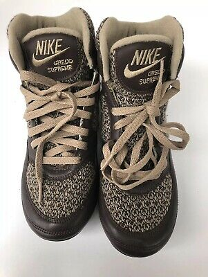 Nike Greco Supreme brown / tan Sneakers - Men's 7.5