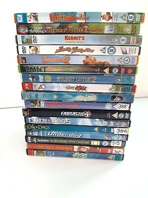MIXED LOT OF 17 Dvds
