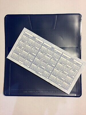 1 NEW VINYL CHECKBOOK COVER WITH DUPLICATE FLAP  AND BLACK REGISTER