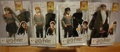 Harry Potter DollsSet of 4 Harry Hermione Ron and Dumbledore