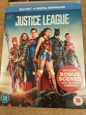 Justice League (Blu-ray, 2017)