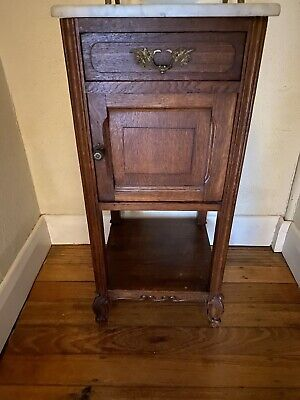 Antique French Provincial Bedside Table