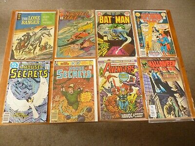 Assorted comics x 8 issues. Various titles/publishers.