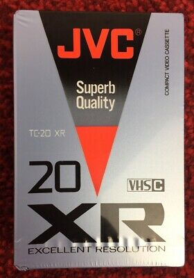 JVC TC20 XR VHS C Blank Camcorder Video Cassette Tape Japan TC-20 VHSC