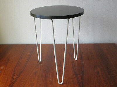 Early  Hairpin Stacking Table / Stool / Hocker von Florence Knoll original
