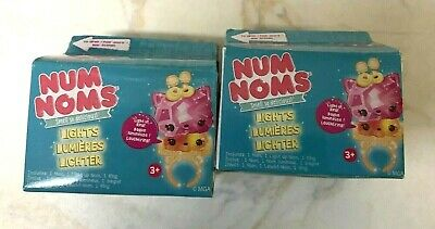 Num Noms Lights Mystery Pack Series 2.2 x 2 pieces~New sealed-