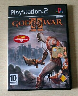 God Of War 2 Ps2 Italiano  Playstation 2 Completo Come Nuovo Prima Versione