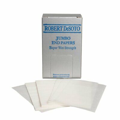 DeSoto Jumbo Hair End Papers