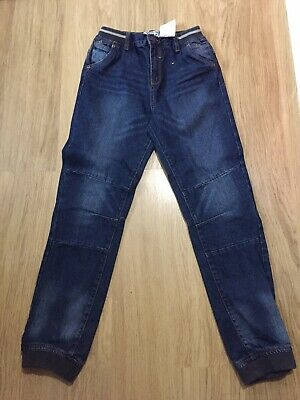Boys Cuffed Denim Jeans 12 Years Blue
