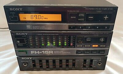 Sony FH-15R Micro Hifi Bookshelf System Amplifier  and Tuner  GWO