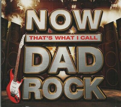 Now That's What I Call Dad Rock 2018 59 tracks on 3cds, Sony New/Sealed