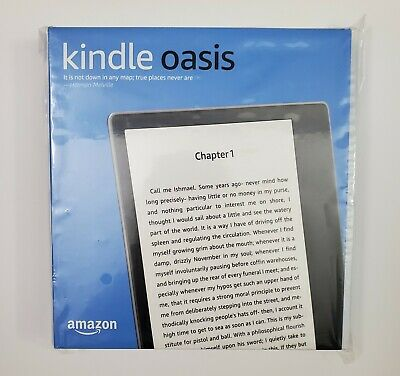 New Kindle Oasis Amazon 9th Generation 8GB Black Free Shipping