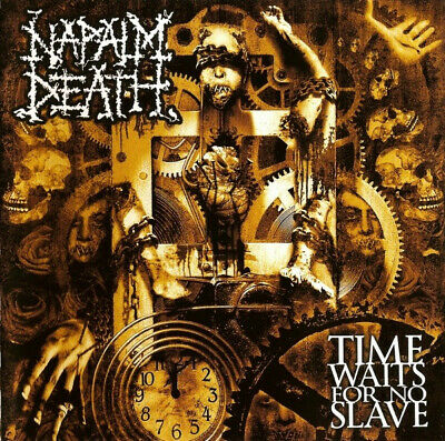 Napalm Death – Time Waits For No Slave CD Grindcore