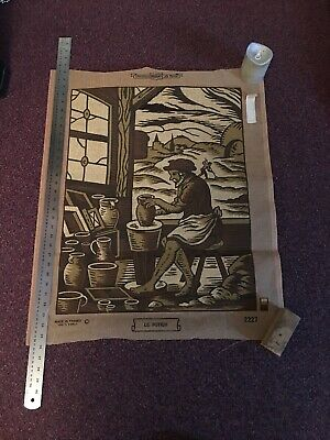 The Potter Tapestry Canvas Margot Sepia's