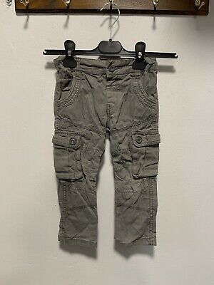 F&F Grey boys cargo combat trousers size 3-4 Years Excellent condition