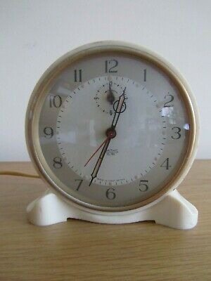 vintage smiths sectric electric clock. working. like pifco, great britain.1950s.