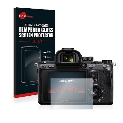 Sony Alpha 7 III Tempered Glass Screen Protector Clear 9H Protection