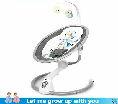 Safety Baby Rocking Chair Baby Electric Cradle Rocking Chair Soothing Sleeps New