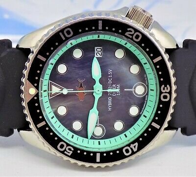 Seiko Hybrid Scuba Divers SDS001 'Tuna' 7002-7000 Gents Watch - Mother of Pearl