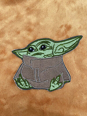 4 Inch Sew On Embroidered The Child Mandalorian Baby Yoda Patch Only Embroidery