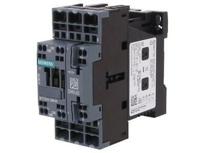 3RT2017-2BB41 Contactor3-pole NO x3 Auxiliary contacts NO 24VDC 12A
