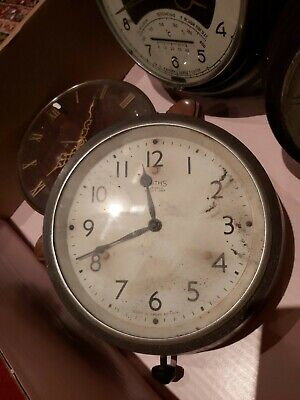 Smiths  Vintage Bakelite  Wall Clock School Clock Factory Clock
