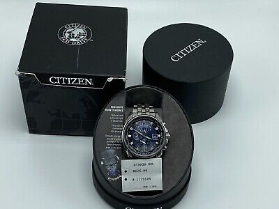 Citizen AT9030-80L Eco Drive Radio Controlled World Time Perpetual Mens Watch