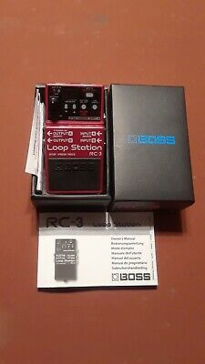Boss RC-3 Loop Station...NEW!!!