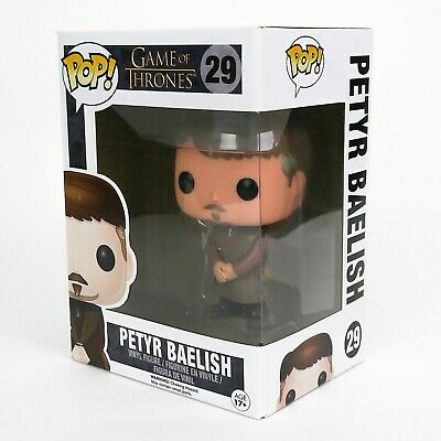 Funko Pop Game of Thrones #29 Petyr Baelish New Rare + Protector Vaulted Retired