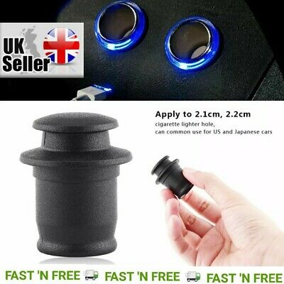 Universal Car Cigarette Lighter Socket 12V Outlet Lid Waterproof Cover Cap