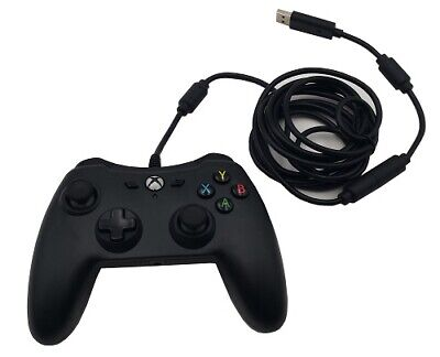 AmazonBasics XBOX ONE Black Wired Controller Version 1, 9.8FT Cable (1500527-01)